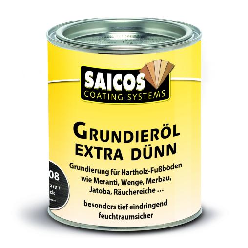 SAICOS Grundieröl Extra Dünn, schwarz