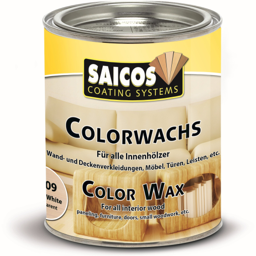 SAICOS Colorwachs, weiß transparent