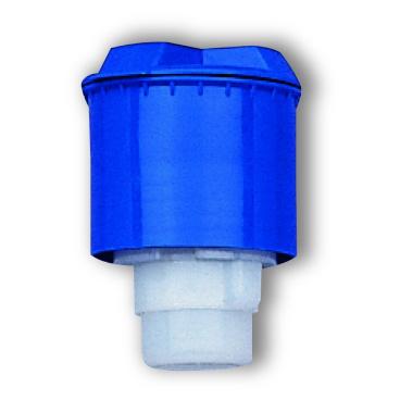 Dreiturm Dosierkopf 10 ml blau