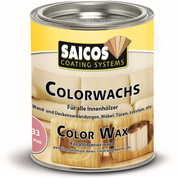 SAICOS Colorwachs, Holzwachs, rosa