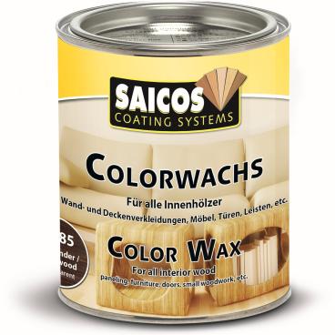 SAICOS Colorwachs, Holzwachs, palisander