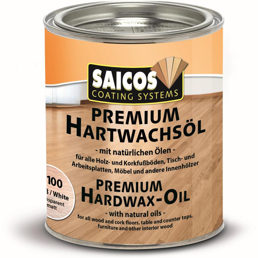Saicos Premium Hartwachs Ol Weiss 750 Ml Dose Online Kaufen Hygi De