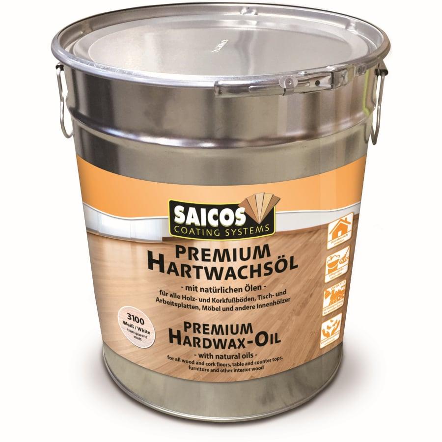 Saicos Premium Hartwachs Ol Weiss 10 L Eimer Online Kaufen Hygi De