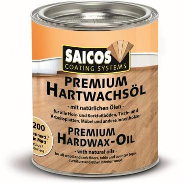 SAICOS Premium Hartwachsöl, farblos seidenmatt