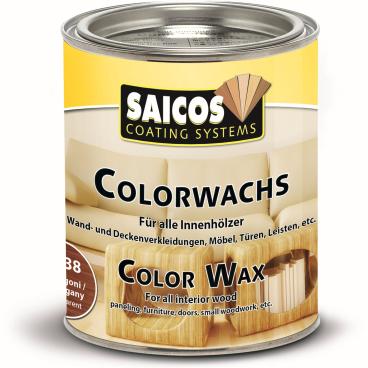 SAICOS Colorwachs, Holzwachs, mahagoni