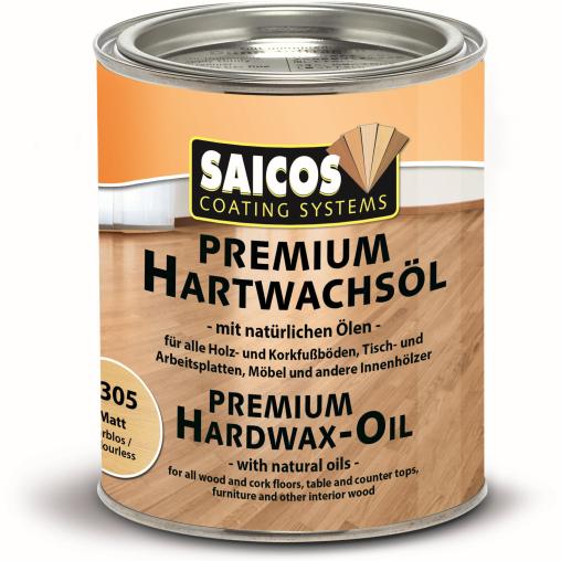 SAICOS Premium Hartwachsöl, farblos matt