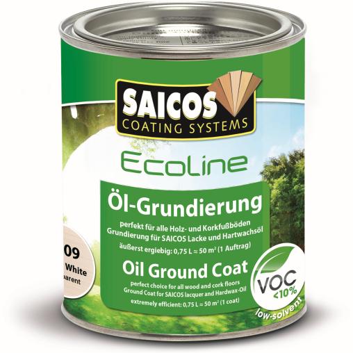SAICOS Ecoline Öl-Grundierung, weiß