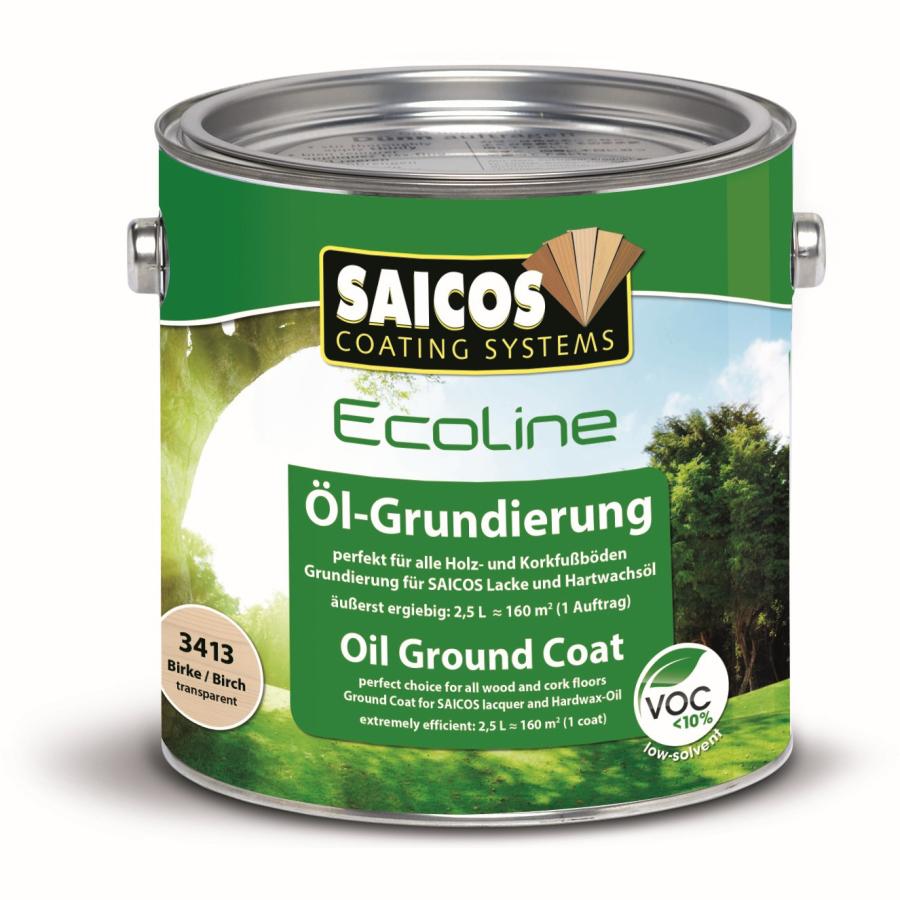 saicos ecoline Öl-grundierung duo top, birke, 2,5 l - dose online