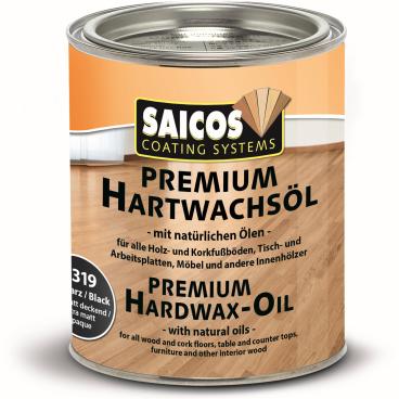 SAICOS Premium Hartwachsöl, schwarz