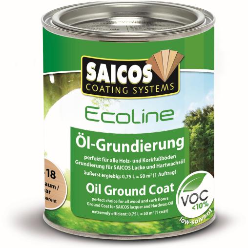 SAICOS Ecoline Öl-Grundierung, birnbaum