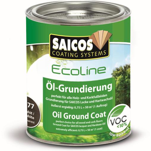 SAICOS Ecoline Öl-Grundierung, graphitgrau