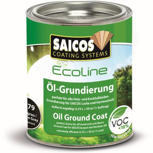 SAICOS Ecoline Öl-Grundierung, antikgrau