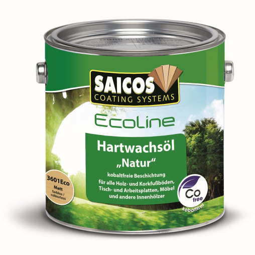 "SAICOS Ecoline Hartwachs-Öl ""Natur"", matt"