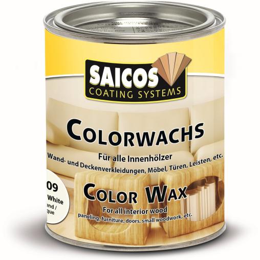 SAICOS Colorwachs, weiß deckend