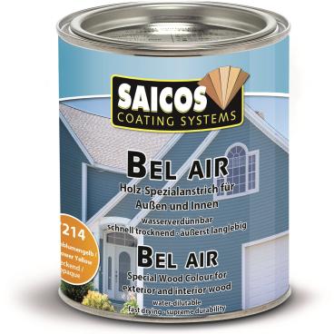 SAICOS Bel Air Holz-Spezialanstrich, sonnenblumengelb