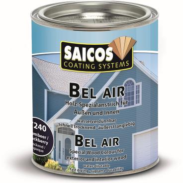 SAICOS Bel Air Holz-Spezialanstrich, brombeer