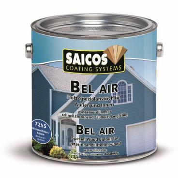 SAICOS Bel Air Holz-Spezialanstrich, himmelblau