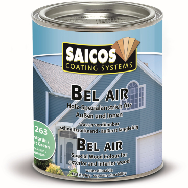 SAICOS Bel Air Holz-Spezialanstrich, mintgrün