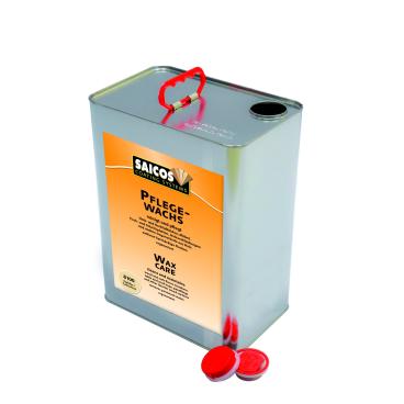SAICOS Pflegewachs farblos 10 Liter - Eimer