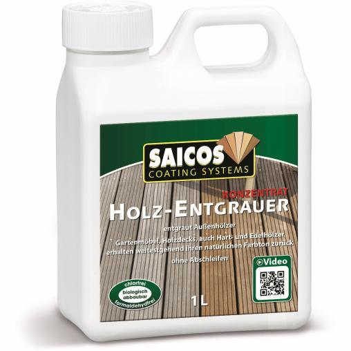 SAICOS Holz-Entgrauer