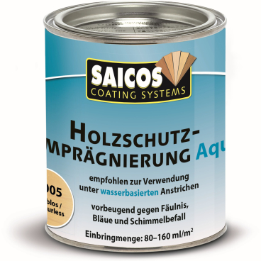 SAICOS Holzschutzimprägnierung Aqua, farblos