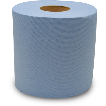 Rollenhandtuchpapier Classic, blau