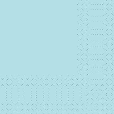 DUNI Klassik Zelltuchservietten, 24 x 24 cm