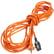 Nilfisk Netzkabel steckbar, orange