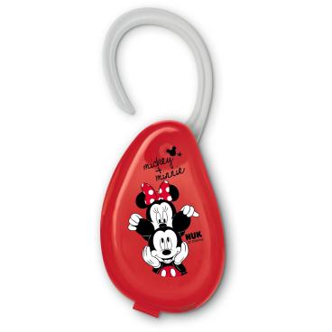 NUK Disney Mickey Schnullerbox mit Aufhängung