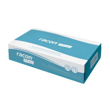 racon® premium Kosmetiktücher, 2-lagig, hochweiß 1 Box = 100 Tücher