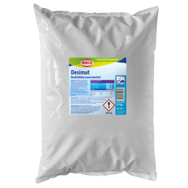 Weco Desimat  Desinfektionswaschmittel