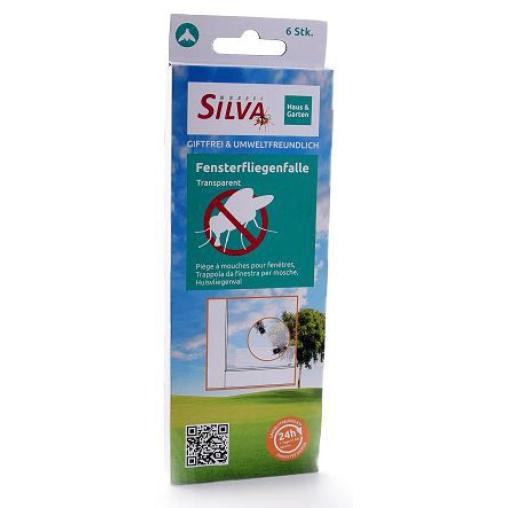 SILVA Fensterfliegenfalle Transparent