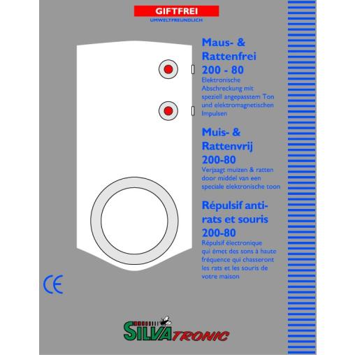 SILVATRONIC Maus- und Rattenfrei 200-80