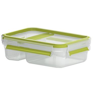 EMSA Clip & Go Joghurtbox, rechteckig, 600 ml