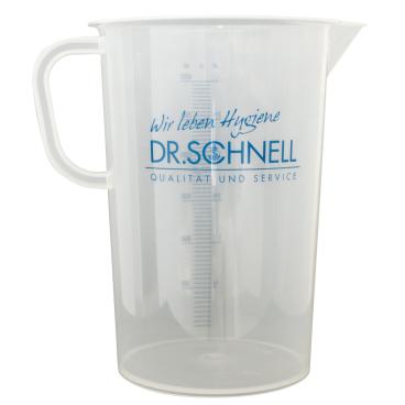 Dr. Schnell Messbecher, transparent