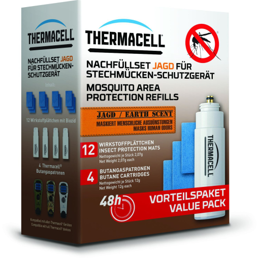 Thermacell® Nachfüllset Jagd für Stechmückenschutzgerät