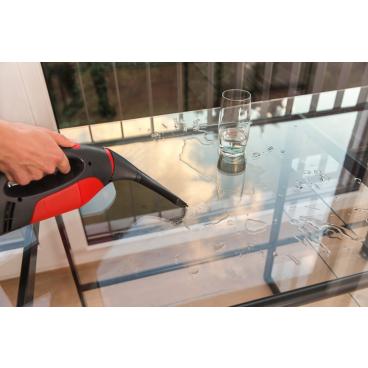 Vileda Windowmatic Power Fenstersauger Mit kräftigem Lithium-Ionen-Akku mit 40 min Laufzeit