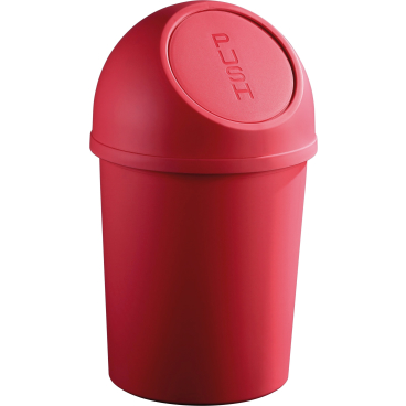"helit ""the flip"" Push-Abfallbehälter, 6 Liter"