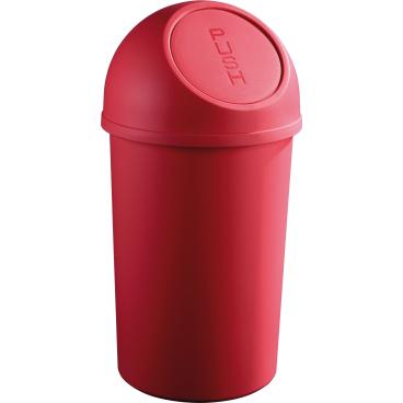 "helit ""the flip"" Push-Abfallbehälter, 25 Liter"