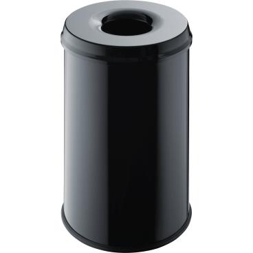 "helit ""the guardian"" Metall-Papierkorb, 30 Liter"