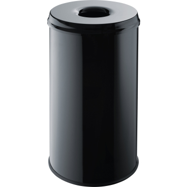 "helit ""the guardian"" Metall-Papierkorb, 50 Liter"