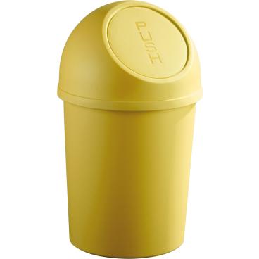 "helit ""the flip"" Push-Abfallbehälter, 13 Liter"
