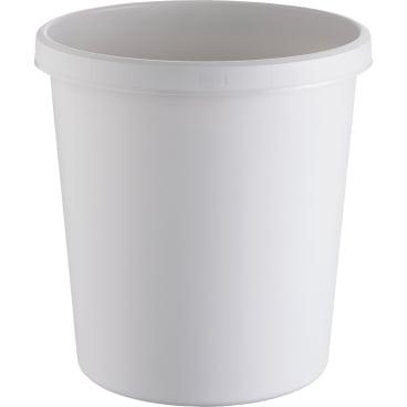 "helit ""the german"" Papierkorb mit Rand, 18 Liter"