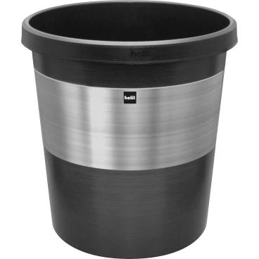 "helit ""pure elegance"" Papierkorb, 18 Liter"