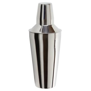 Shaker mit innenliegendem Kopfteil, 3-teilig