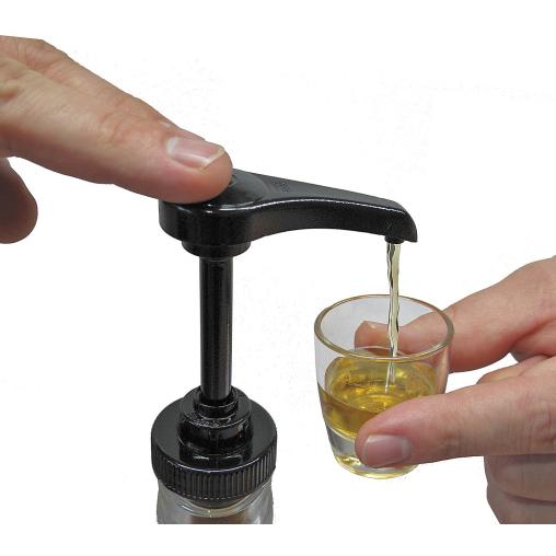 Dosierpumpe für alkoholische Getränke