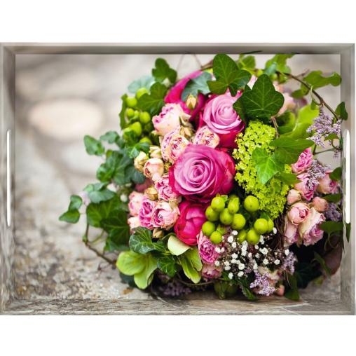 """EMSA Classic Tablett """"Flower bouguet"""""""