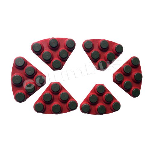 Twister DCS Hybridsegmente, rot