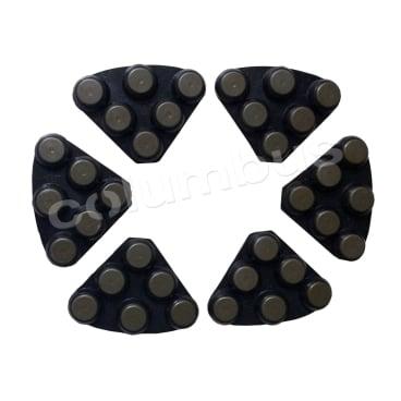 Twister DCS Hybridsegmente, schwarz