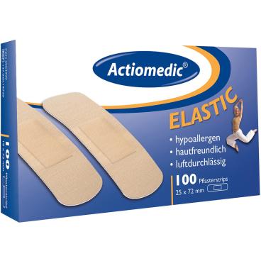 "Actiomedic® ELASTIC  Pflasterstrips"""